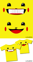 Pikachu Tshirt by Loweak