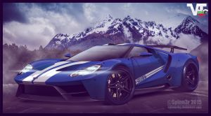 2016 Ford GT Widebody ~ by SpinnerBG