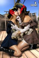 Me and Gogo as lesbpirates lol by cosplayerotica