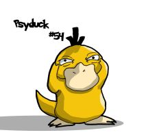Psyduck Color by HurricaneJosh