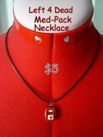 Left 4 Dead Med Pack Necklace by CynicalSniper