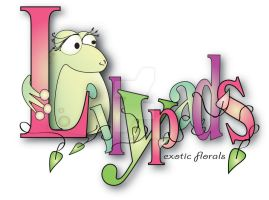 Lilypads Florist Logo by concettasdesigns