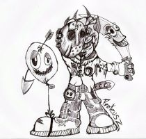 New art gremlin by Proteusz