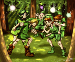 Day 14 - Link vs. Mido by CelticMagician