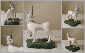 Last Unicorn Figure by LeiliaClay