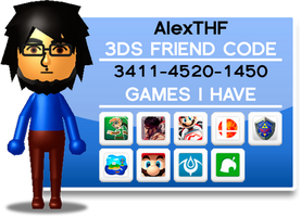 3DS Friend Code! by AlexTHF