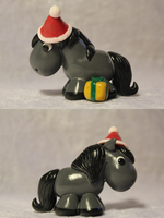 Christmas Pony (Grullo) for SALE by AnimalisCreations
