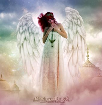Clockwork Angel by BloomingRoseXeniia