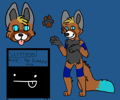 New Ref Sheet by wildwolfboy90