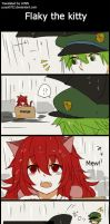 HTF doujinshi translation 22: Flaky the kitty by minglee7294