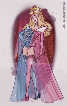 Disney Boudoir: Sleeping Beauty II by fra-gai