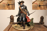 Blackbeard Statue by DOM098652