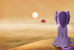 DigiBrony - Uncertain Future by TheoryBrony