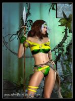Savage Land - Rogue by Aphrodite-NS