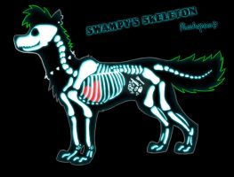 Swampy - Skeleton by MissAgness