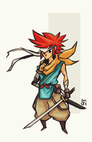 Crono Sketch by Tigerhawk01