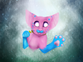 Felix under water (mouse) by wikitygrys
