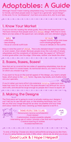 A Guide to Good Adoptables by ribbon-adopts