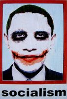 Obama The Socialist Joker by themanfromhyrule