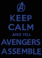 Keep Calm - Avengers Assemble by boozer11
