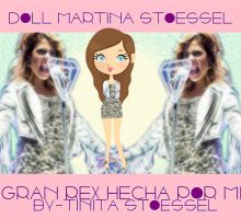 Doll martina stoessel concierto by bytinistoessel