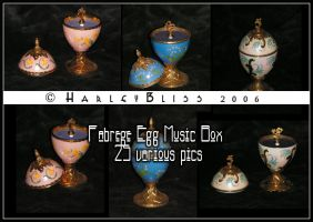 Fabrege Egg Music Box by HarleyBliss
