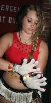 Dubstep Gloves Girl by Wilcox660