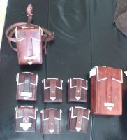 Valkyria Chronicles - Basis/harness bags - spread by Simbaen