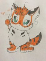 Cute little tiger by Tiger1609