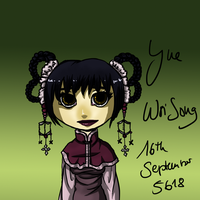 16th September - Yue Woi Song by AnnieFliesAway