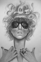 LADY GAGA 4 by AngelasPortraits