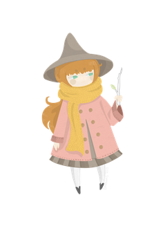 twitchy witchy girl by mothums