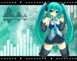 Vocaloid: Miku Wallpaper by Balrond