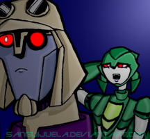 Uh, Blitzwing? by Sanguijuela