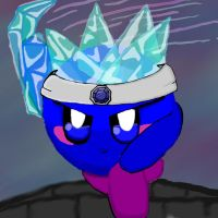 Ice Kirby by dragonfire53511