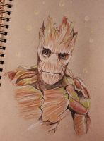 I am Groot by piratebutl23
