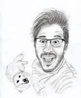 Markiplier and Chica by BarikaH