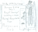 January OTP Challenge: Day 3 by DeviantGirl2014