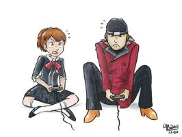 Persona gaming by TheBourgyman