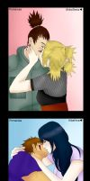 Naruto Couples COLLAB by XNessNessX