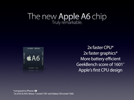 The new Apple A6 by theIntensePlayer
