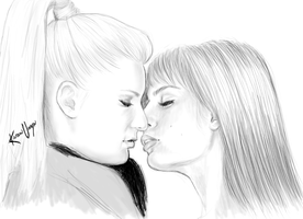 Brittberry Kiss by miserable-dreamer