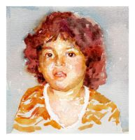 Little Me Quick watercolours by SILENTJUSTICE