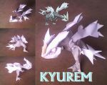 Kyurem by turtwigcuTey