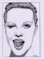Charlize Theron in Pen by Cindy-R