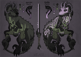 Halloween Arcanus Auction [CLOSED] by Velkss