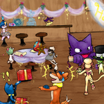 PMD-E E4 Pt 4: Who doesn't like parties? by BrownEyedEnigma