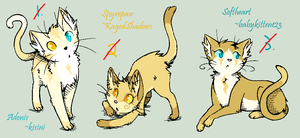 *CLOSED* Kitten Draw-To-Adopt by acornheart465
