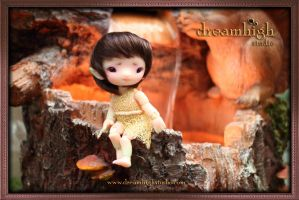 ELLO the baby druid 10 cm BJD by DreamHighStudio