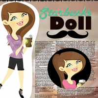 The New StarbucksDoll by iRouges